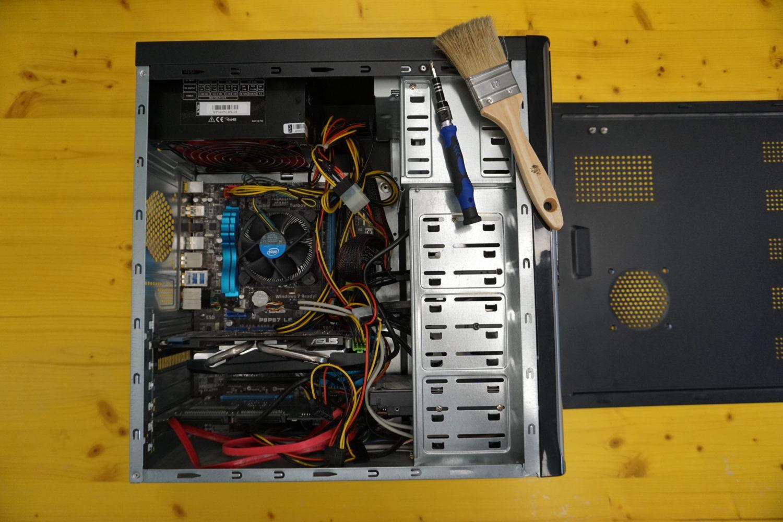 Montaje de ordenador