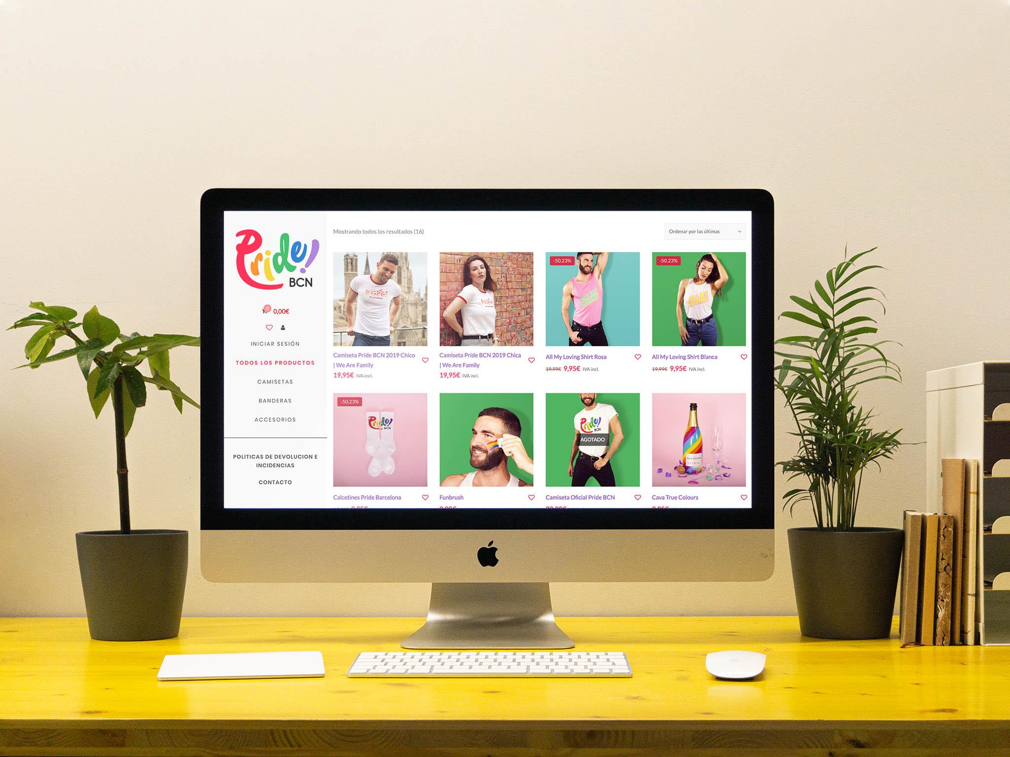 Portada web Pride BCN Shop