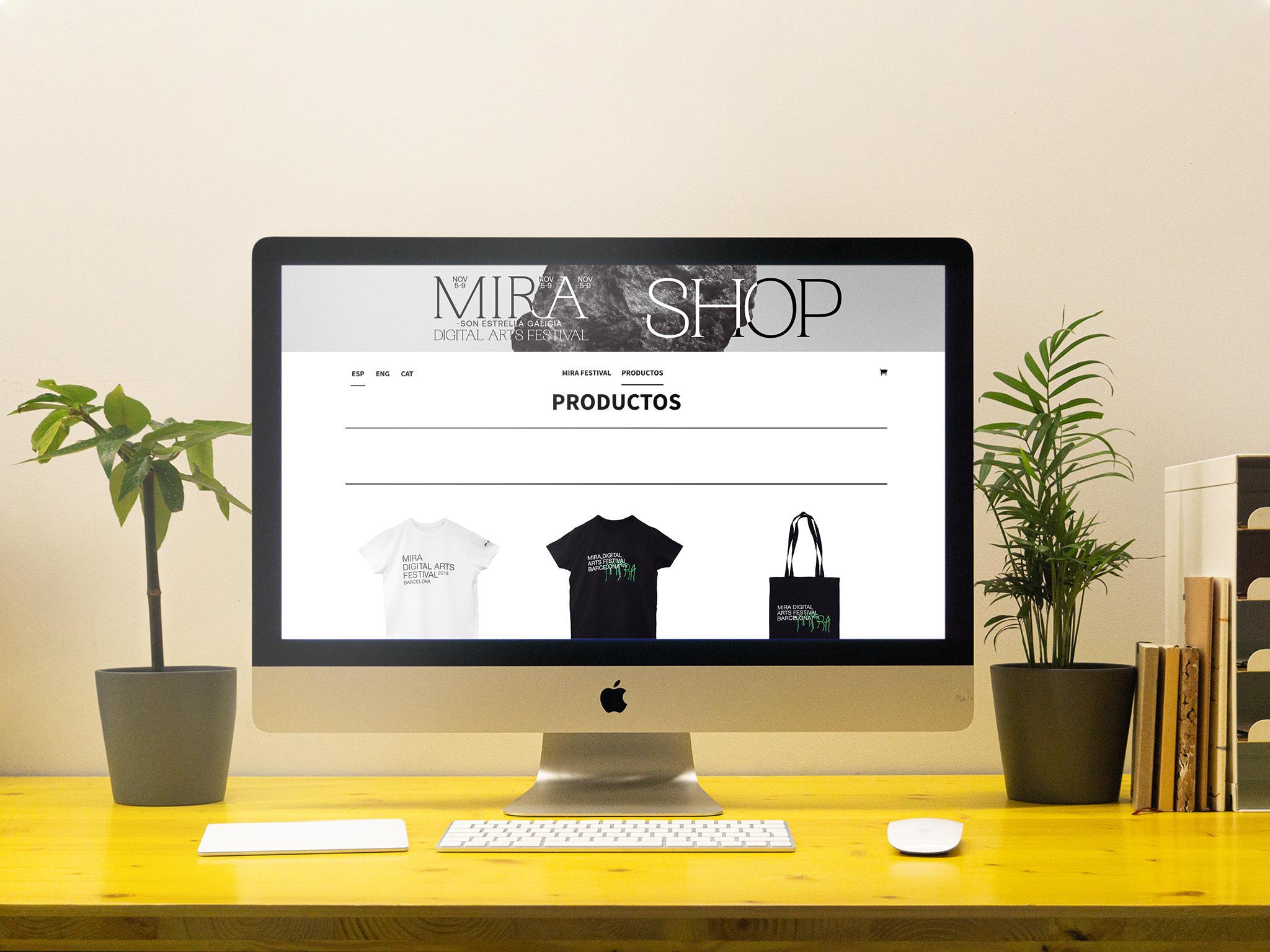 Portada web Mira Shop