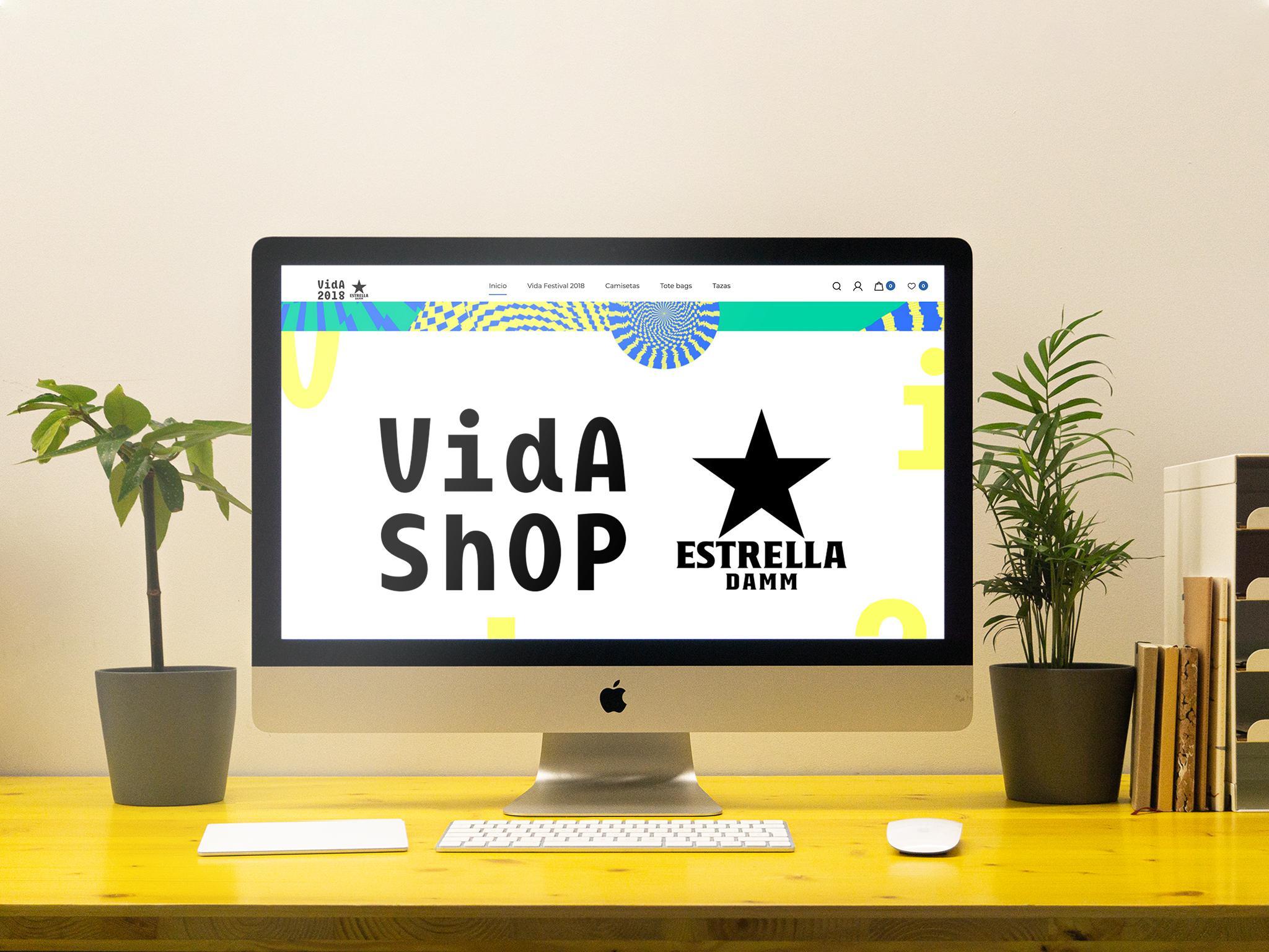 Portada web Vida Shop